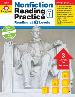 Nonfiction Reading Practice, Grade 1 Cover Image