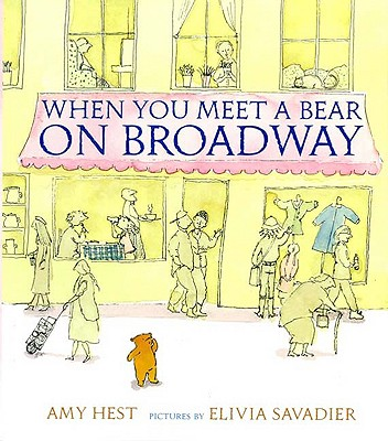 When You Meet a Bear on Broadway Cover