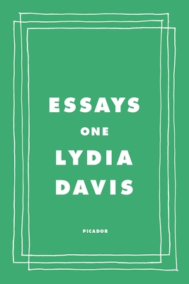 Essays One Cover Image