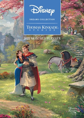 Disney Dreams Collection by Thomas Kinkade Studios: 2022 Monthly Pocket Planner Cover Image