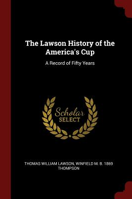 Cover for The Lawson History of the America's Cup