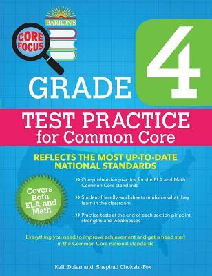 Core Focus Grade 4: Test Practice for Common Core Cover Image