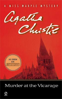 Murder at the Vicarage Cover Image