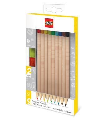 Lego 9 Pack Colored Pencils Cover Image