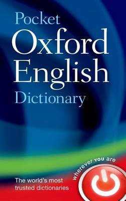Pocket Oxford English Dictionary Cover