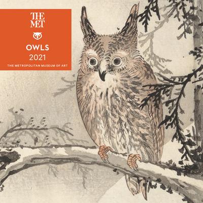 Owls 2021 Mini Wall Calendar Cover Image