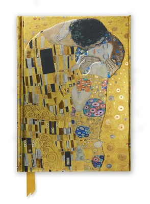 Gustav Klimt: The Kiss (Foiled Journal) (Flame Tree Notebooks #3) Cover Image