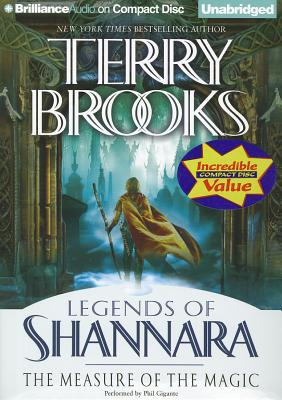 The Measure of the Magic (Legends of Shannara (Unnumbered)) Cover Image
