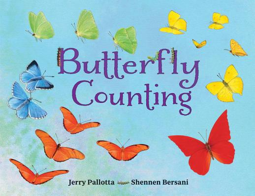 Butterfly Counting (Jerry Pallotta's Counting Books) Cover Image