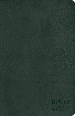Cover for NVI Biblia del Pescador letra grande, verde símil piel