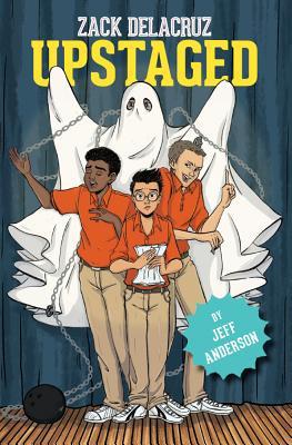 Cover for Upstaged (Zack Delacruz, Book 3), 3