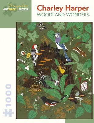 Charley Harper: Woodland Wonders 1,000-Piece Jigsaw Puzzle Cover Image