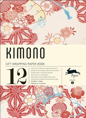 Kimono: Gift Wrapping Paper Book Vol. 3 Cover Image