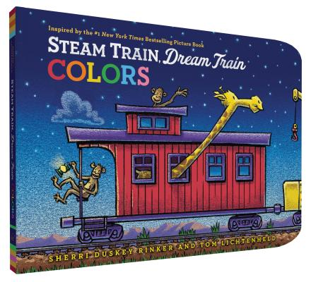 Steam Train, Dream Train Colors Cover