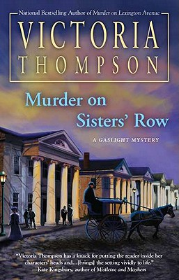 Murder on Sisters' Row Cover
