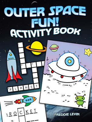 Outer Space Fun! Activity Book Cover Image