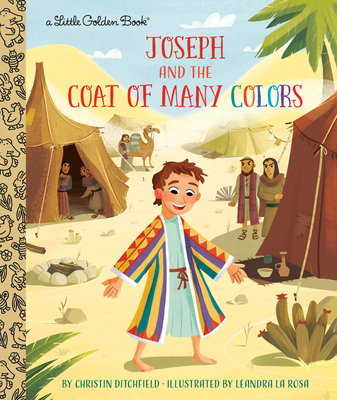 Joseph and the Coat of Many Colors (Little Golden Book) Cover Image