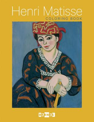Henri Matisse Coloring Book Cover Image
