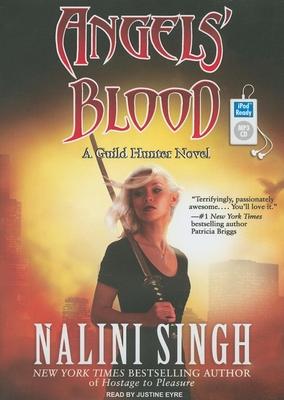 Angels' Blood (Guild Hunter Novels #1) Cover Image