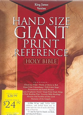 Giant Print Reference Bible-KJV Cover