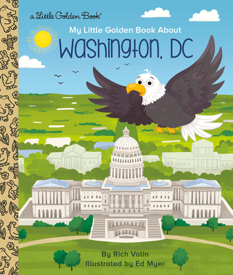 My Little Golden Book about Washington, DC Cover Image