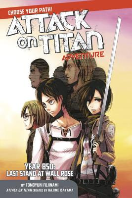 Attack on Titan Choose Your Path Adventure cover image