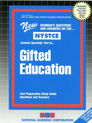 Gifted Education: Content Specialty Test: Test Preparation Study Guide Questions & Answers (Passbooks