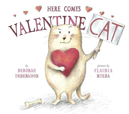 Cover for Here Comes Valentine Cat