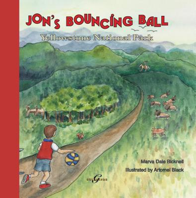 Jon's Bouncing Ball: Yellowstone National Park cover