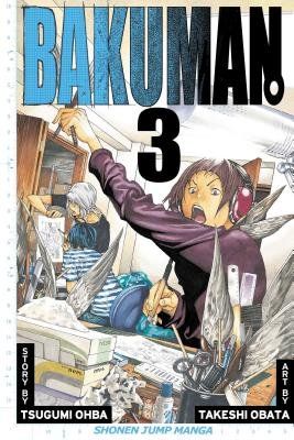 Bakuman, Volume 3 Cover