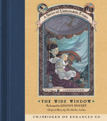Series of Unfortunate Events #3: The Wide Window CD Cover Image