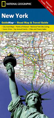New York (National Geographic GuideMaps) Cover Image