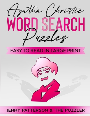 Agatha Christie Word Search Puzzles: Easy to Read in Large Print Cover Image