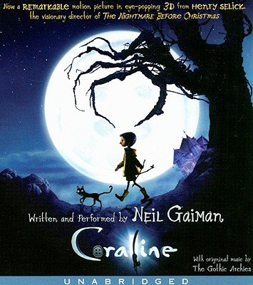 Coraline Movie Tie-In CD Cover Image