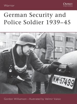 German Security and Police Soldier 1939 45 Cover