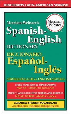 Merriam-Webster's Spanish-English Dictionary (Mass Market ... - photo#27