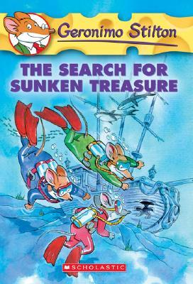 The Search for Sunken Treasure (Geronimo Stilton #25) Cover Image