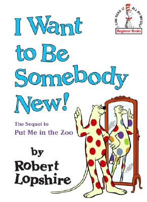 I Want to Be Somebody New! Cover