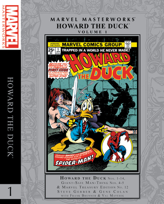 Marvel Masterworks: Howard the Duck Vol. 1 cover