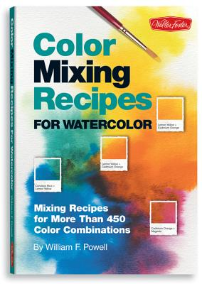 Color Mixing Recipes for Watercolor Cover