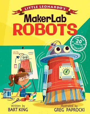 Little Leonardo's Makerlab Robots Cover Image