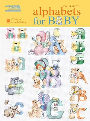 Alphabets for Baby (Leisure Arts #5858) Cover