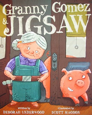 Granny Gomez & Jigsaw Cover