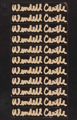 Wendell Castle: Scrapbook 1958-1980 Cover Image