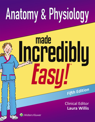 Anatomy & Physiology Made Incredibly Easy (Incredibly Easy! Series®) Cover Image