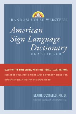 Random House Webster's American Sign Language Dictionary Cover