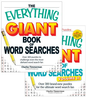 The Everything Giant Word Search Bundle - Vol I and II Cover Image