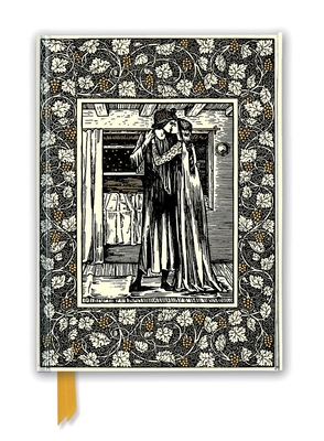 William Morris: The Story of Troilus and Criseyde (Foiled Journal) (Flame Tree Notebooks #35) Cover Image