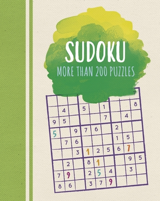 Sudoku: More Than 200 Puzzles Cover Image