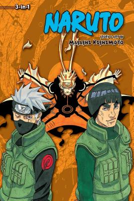 Naruto (3-in-1 Edition), Vol. 21 cover image